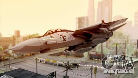 USA Navy Hydra für GTA San Andreas Seitenansicht