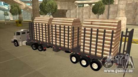 Mrecedes-Benz LS 2638 Canaviero pour GTA San Andreas vue intérieure