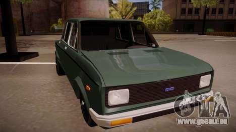 Zastava 128 Turbo pour GTA San Andreas laissé vue