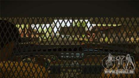 Fasthammer Police SF pour GTA San Andreas vue de côté