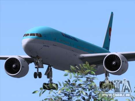 Boeing 777-2B5ER Korean Air pour GTA San Andreas