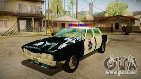 Fasthammer Police SF pour GTA San Andreas