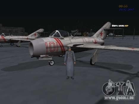 Colonel général de la force aérienne soviétique pour GTA San Andreas sixième écran