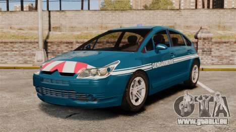 Citroen C4 Gendarmerie [ELS] für GTA 4