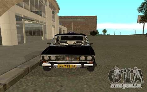 VAZ 2106 Taxi pour GTA San Andreas vue de droite
