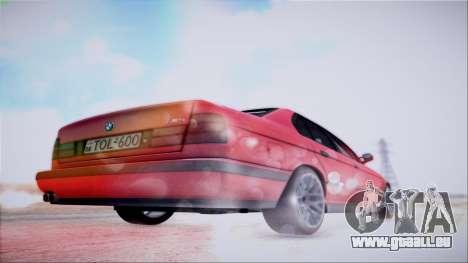 BMW M5 E34 für GTA San Andreas Seitenansicht