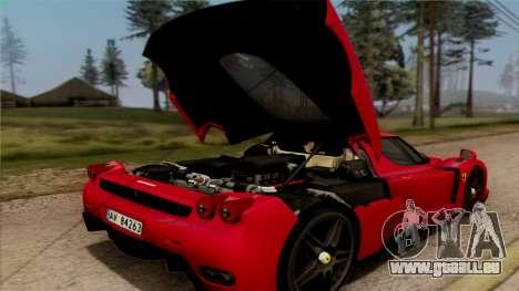 Ferrari Enzo 2002 für GTA San Andreas Seitenansicht