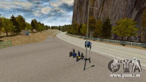 Lage von Okutama FZC für GTA 4 achten Screenshot