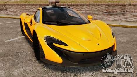 McLaren P1 2013 pour GTA 4