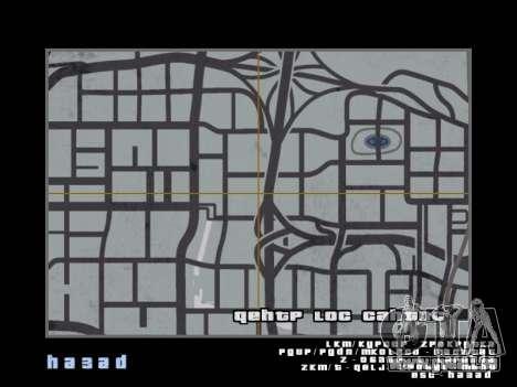 Carte dans le style de GTA 5 pour GTA San Andreas troisième écran