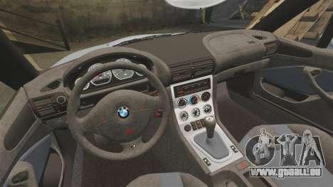 BMW Z3 Coupe 2002 pour GTA 4 est un côté