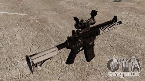 Carabine automatique v6 M4 VLTOR pour GTA 4 secondes d'écran