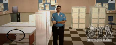 Cadet Of The Police Academy für GTA San Andreas her Screenshot