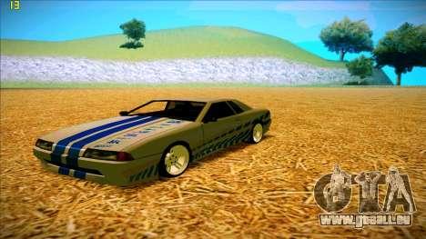 Paintjobs EQG Version for Elegy pour GTA San Andreas