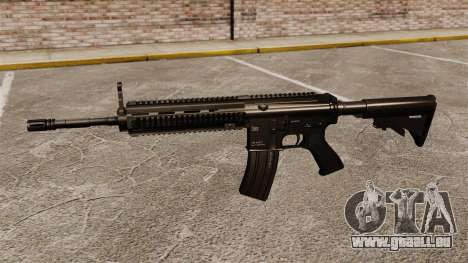 HK416 automatique pour GTA 4 troisième écran