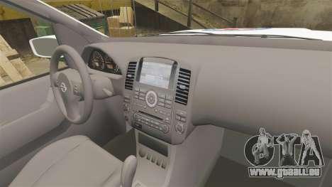 Nissan Pathfinder HGSS [ELS] für GTA 4 Rückansicht