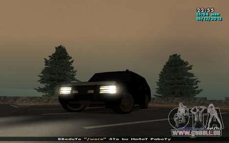 Huntley Mp-Bandit für GTA San Andreas