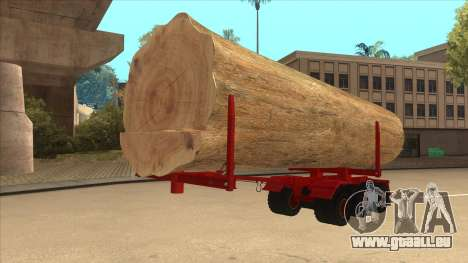 2-Nd-Holz-Träger zu Hayes H188 für GTA San Andreas rechten Ansicht
