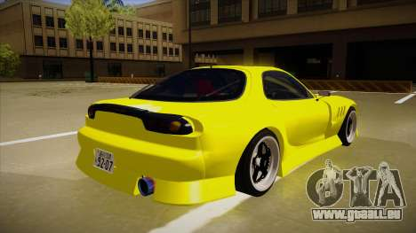 Mazda FD3S BN Sports für GTA San Andreas rechten Ansicht