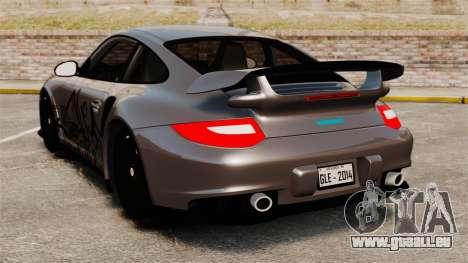 Porsche 911 GT2 RS 2012 Turbo pour GTA 4 Vue arrière de la gauche