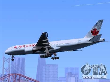 Boeing 777-200ER Air Canada für GTA San Andreas