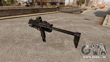 HK MP7 mitraillette v2 pour GTA 4 secondes d'écran