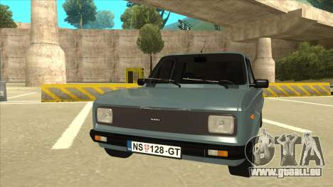 Zastava 128 Stock pour GTA San Andreas