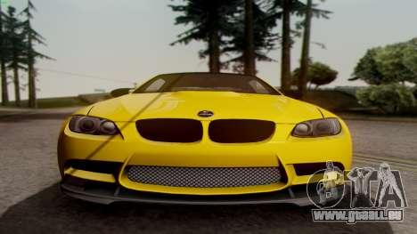 BMW M3 E92 Hamann für GTA San Andreas Rückansicht