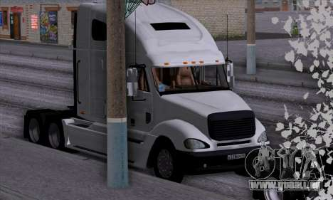 Freightliner Columbia pour GTA San Andreas vue de côté