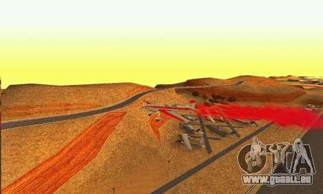 Stunt GTA V pour GTA San Andreas vue arrière