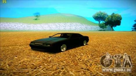 New Elegy für GTA San Andreas linke Ansicht
