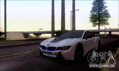 BMW I8 für GTA San Andreas rechten Ansicht