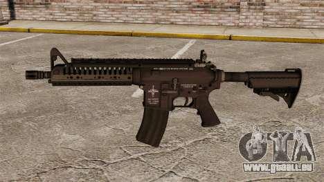 Automatique carabine M4 VLTOR v1 pour GTA 4 troisième écran