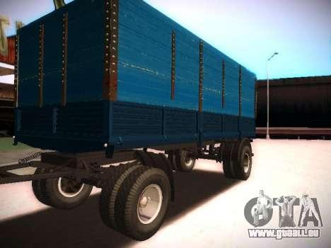 Trailer Kamaz 5320 pour GTA San Andreas