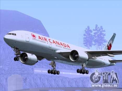 Boeing 777-200ER Air Canada für GTA San Andreas Räder