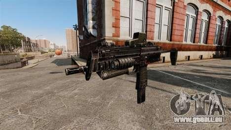 HK MP7 mitraillette v2 pour GTA 4