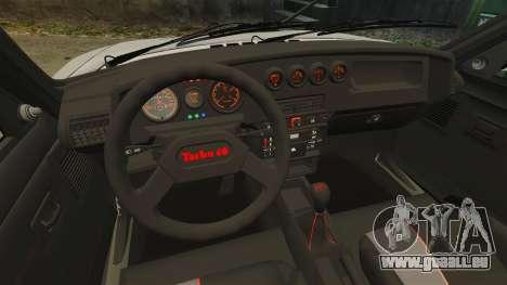 Peugeot 205 Turbo 16 für GTA 4 Innenansicht