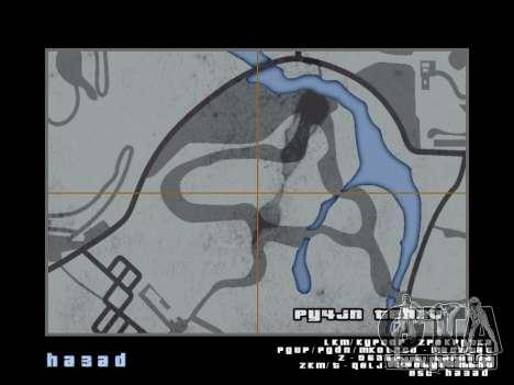 Carte dans le style de GTA 5 pour GTA San Andreas dixième écran