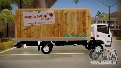 Chevrolet FRR Maple Syrup World für GTA San Andreas linke Ansicht