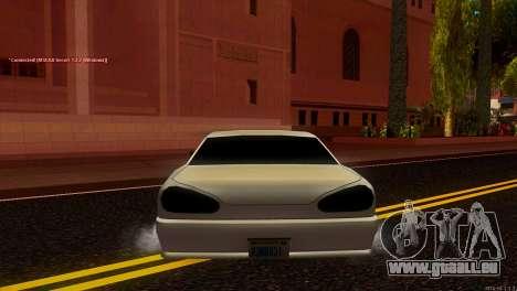 Elegy Estoq für GTA San Andreas zurück linke Ansicht