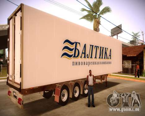 Reefer Baltique pour GTA San Andreas