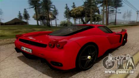 Ferrari Enzo 2002 pour GTA San Andreas laissé vue