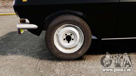 Volga gaz-2410 v1 pour GTA 4 Vue arrière