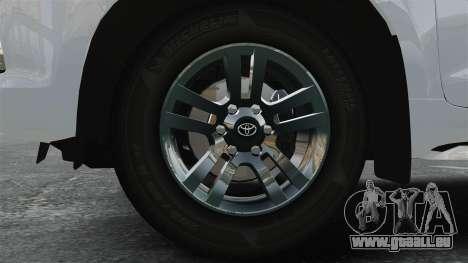 Toyota Land Cruiser Prado 150 für GTA 4 Rückansicht