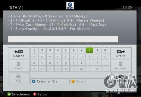 Team XPG GTA V Trainer 9 pour GTA 5