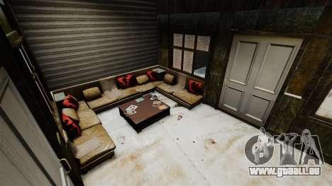 RP maison pour GTA 4 troisième écran