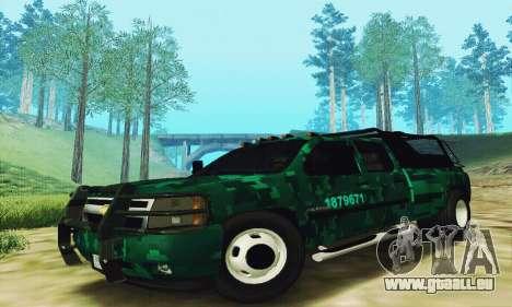 Chevrolet Silverado 3500 Military für GTA San Andreas