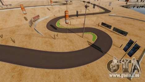 Emplacement DesertDrift ProStreetStyle pour GTA 4 sixième écran