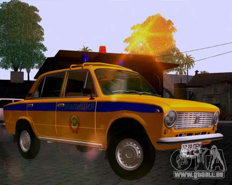 VAZ 21011 Police pour GTA San Andreas