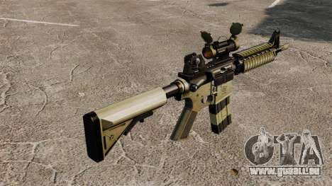 Automatique carabine M4 CQBR v1 pour GTA 4 secondes d'écran